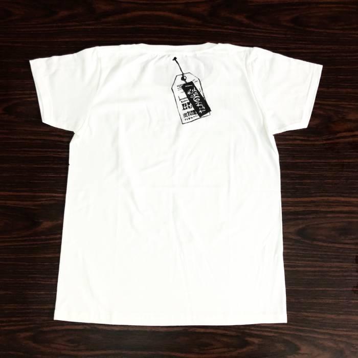わるいくせ ポケットTシャツ(白・XS)