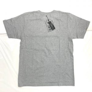 わるいくせ ポケットTシャツ(グレー・XS)