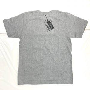わるいくせ ポケットTシャツ(グレー・S)