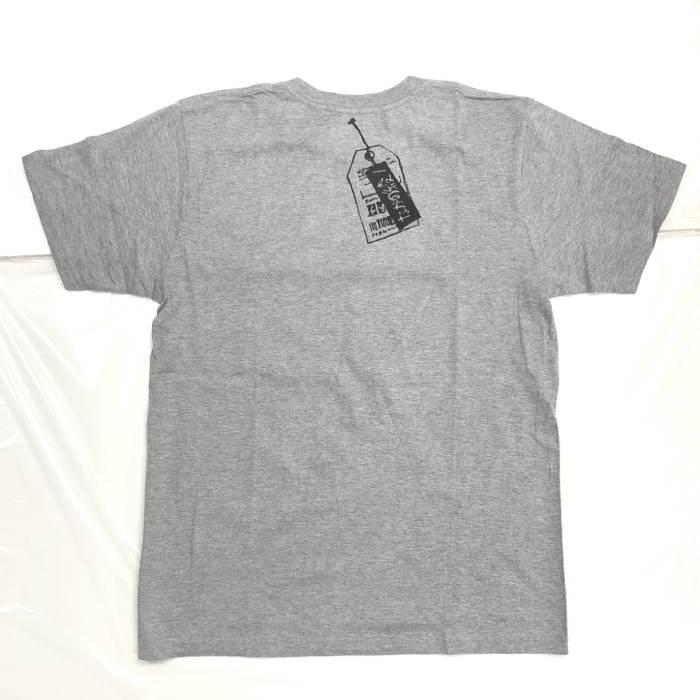 わるいくせ ポケットTシャツ(グレー・L)