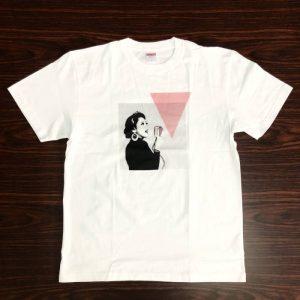 ダブルゲーム Tシャツ(ピンク・L)