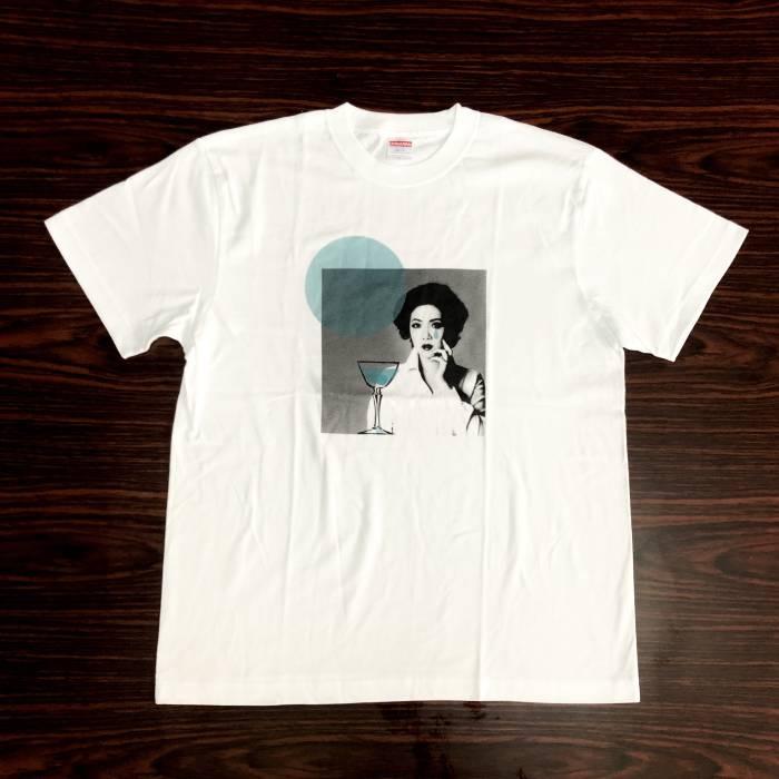 ダブルゲーム Tシャツ(ブルー・XL)