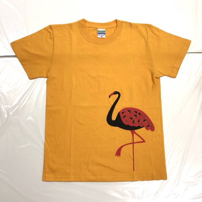 フラミンゴTシャツ(KIDS 160サイズ)