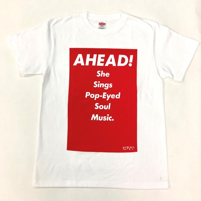 Tシャツ AHEAD!(赤・L)