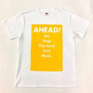 Tシャツ AHEAD!(黄・M)