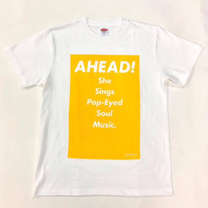 Tシャツ AHEAD!(黄・L)