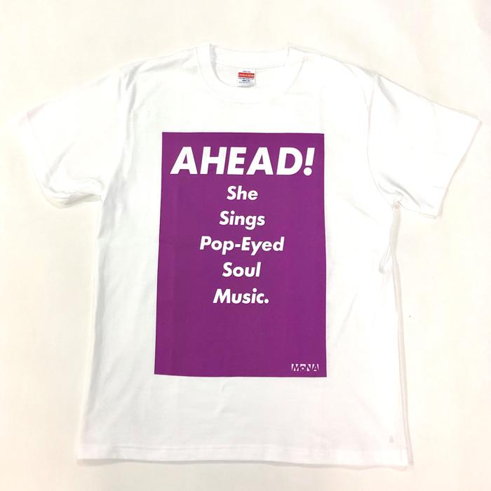 Tシャツ AHEAD!(紫・M)