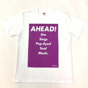 Tシャツ AHEAD!(紫・L)