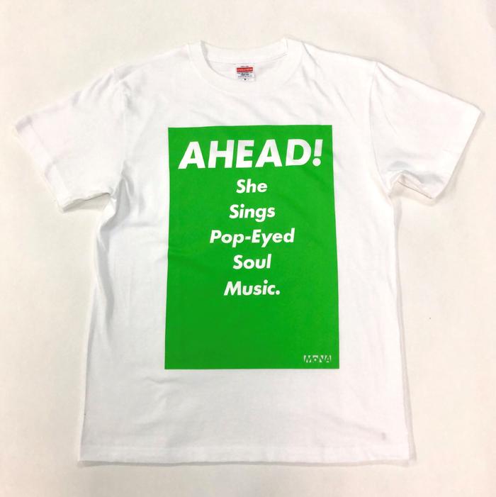 Tシャツ AHEAD!(緑・S)