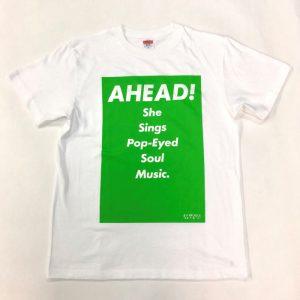 Tシャツ AHEAD!(緑・M)