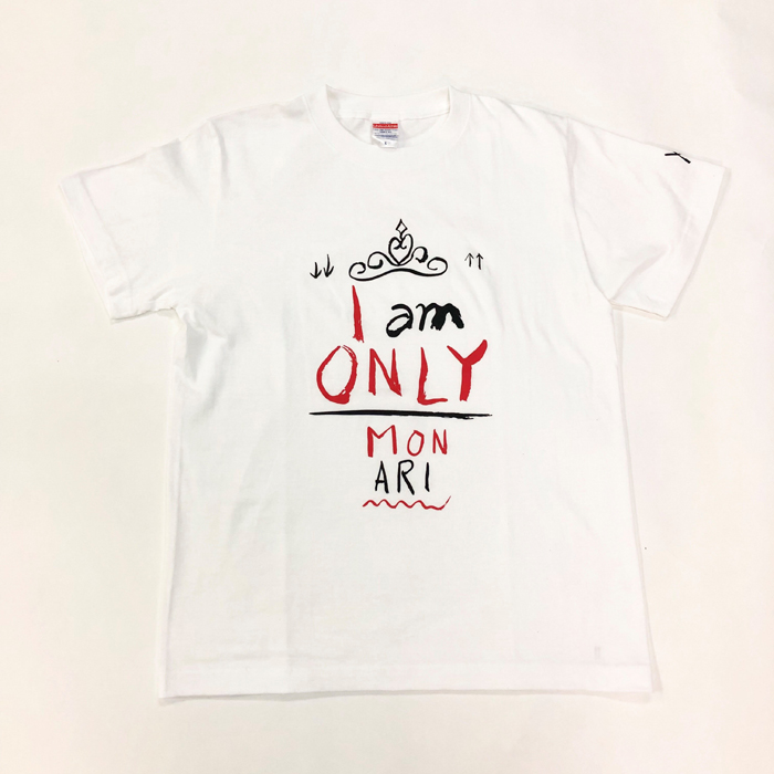 Tシャツ I AM ONLY(白・S)