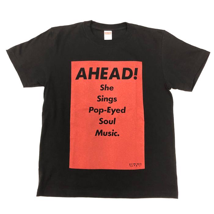 Tシャツ AHEAD!(黒・M)