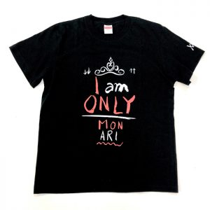 Tシャツ I AM ONLY(黒・S)