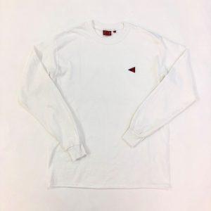 ロングTシャツ(白・L)