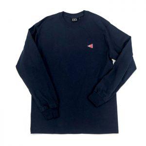 ロングTシャツ(ネイビー・M)