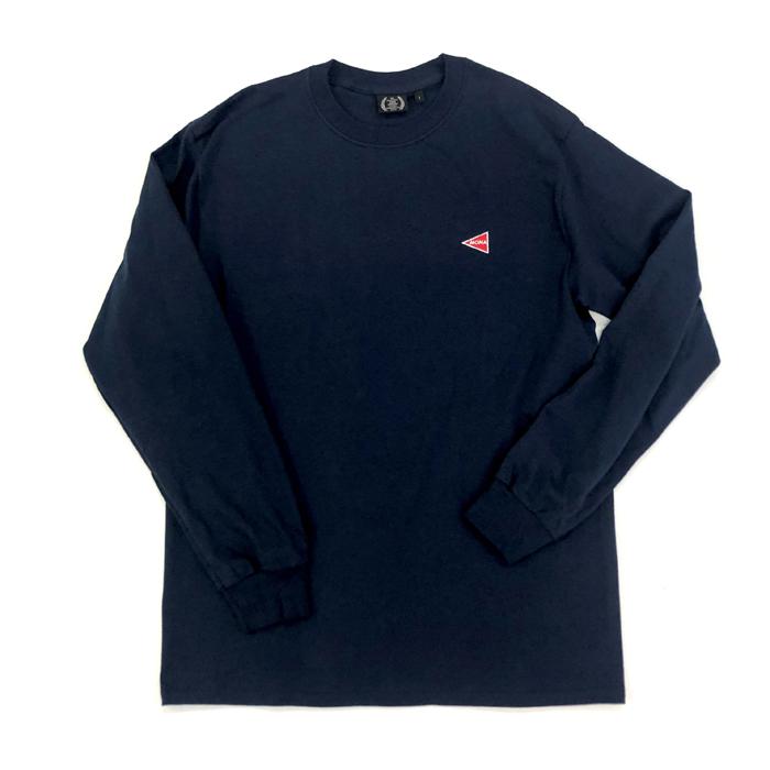 ロングTシャツ(ネイビー・XL)