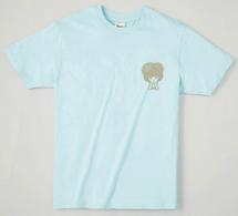 いがぐりTシャツ ライトブルー(サイズM)