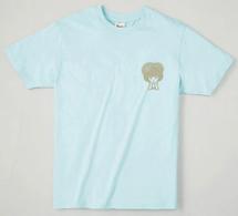 いがぐりTシャツ ライトブルー(サイズWM)