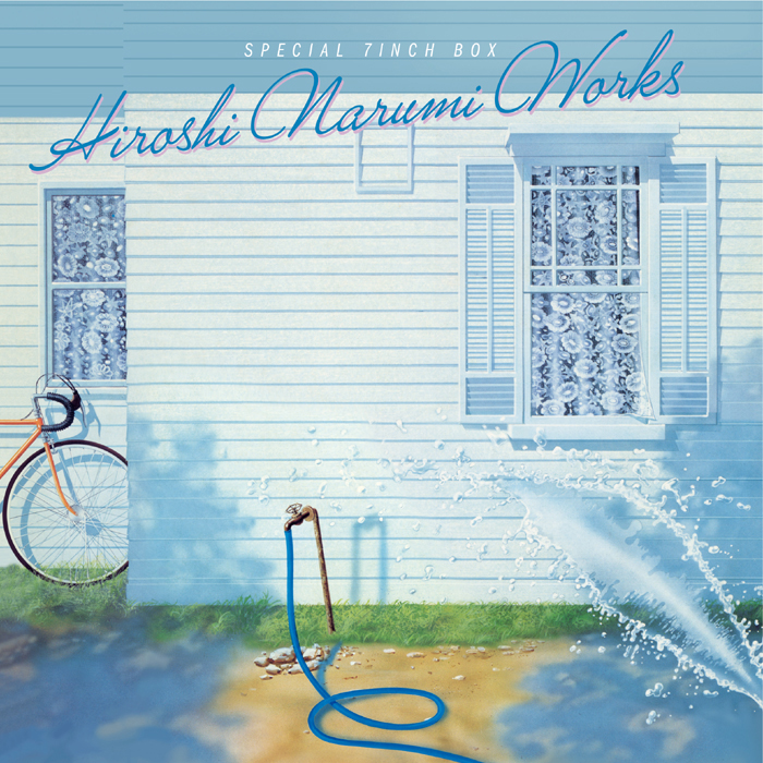 HIROSHI NARUMI WORKS SPECIAL 7inch BOX