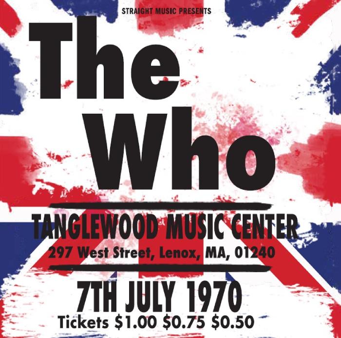 タングルウッド・ミュージック・センター 1970