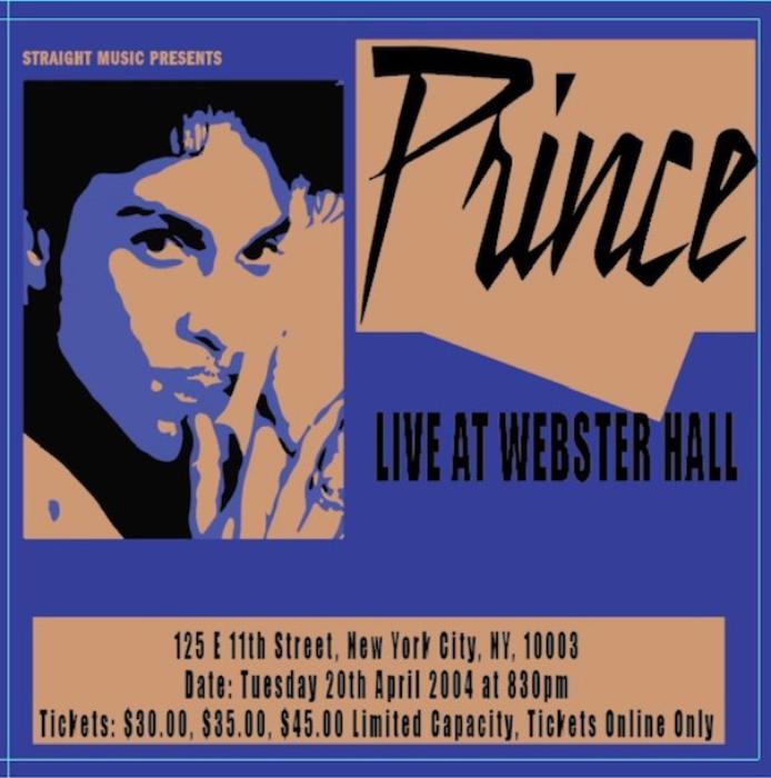 ライブ・アット・ウェブスター・ホール、ニューヨーク2004
