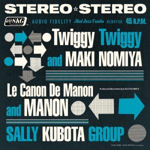 Twiggy Twiggy c/w ル ・カノン ・ド・ マノン