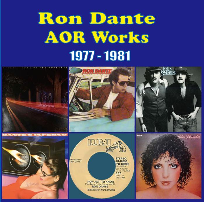 RON DANTE AOR WORKS 1977 - 1981